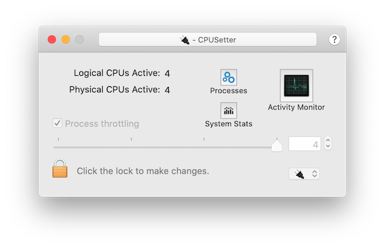 CPUSetter - Enable and Disable CPU cores - Download
